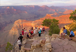 The Grand Canyon with Arrow Stage Lines