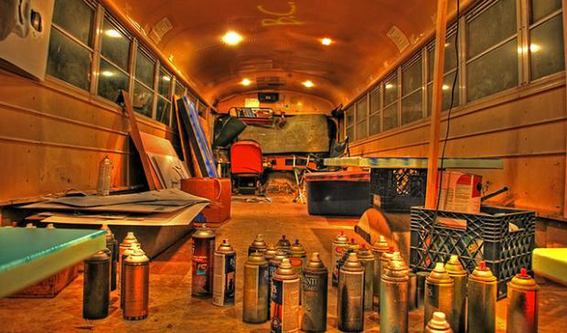 Awesome Converted Buses - Arrow Stage Lines