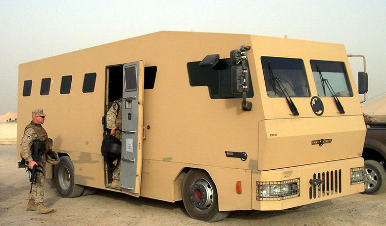 The World's Toughest Bus: It's Regular Route through Downtown Baghdad - Arrow Stage Lines