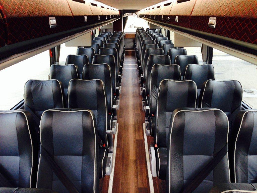 Arrow VanHool TX Interior