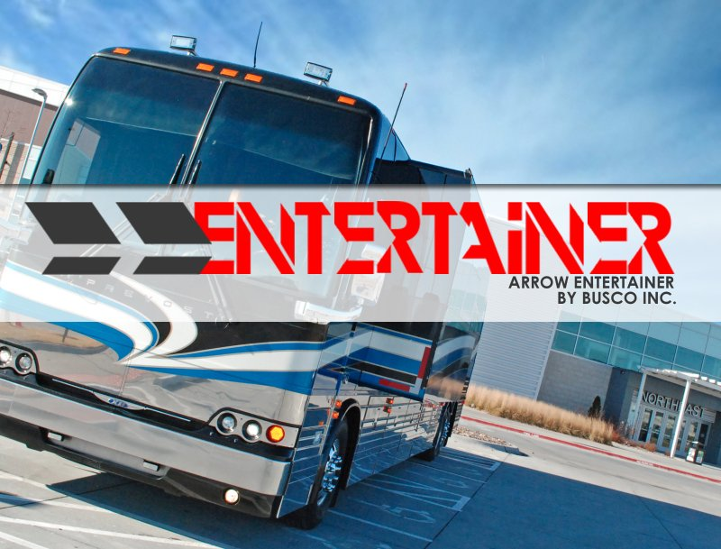 Arrow Stage Lines Adds New Coach and Builds New Brand