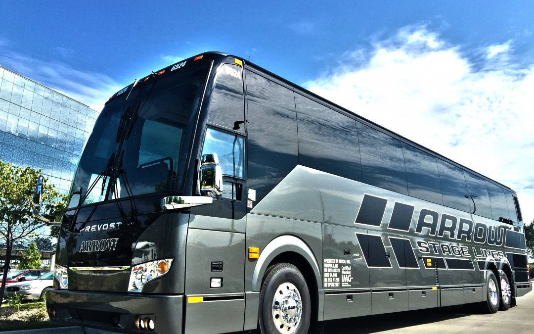 Arrow Stage Lines Adds More Prevost to Fleet