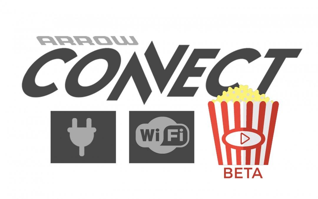 Arrow Tests On-Board Streaming Media