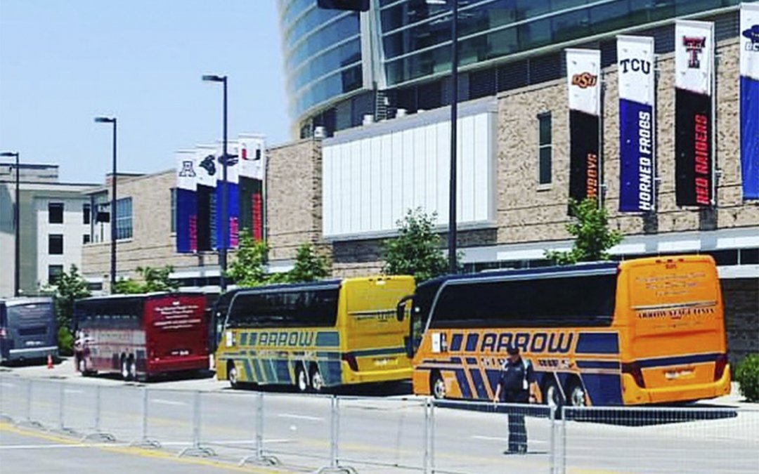 Charter Bus Tradition Continues At 2016 College World Series