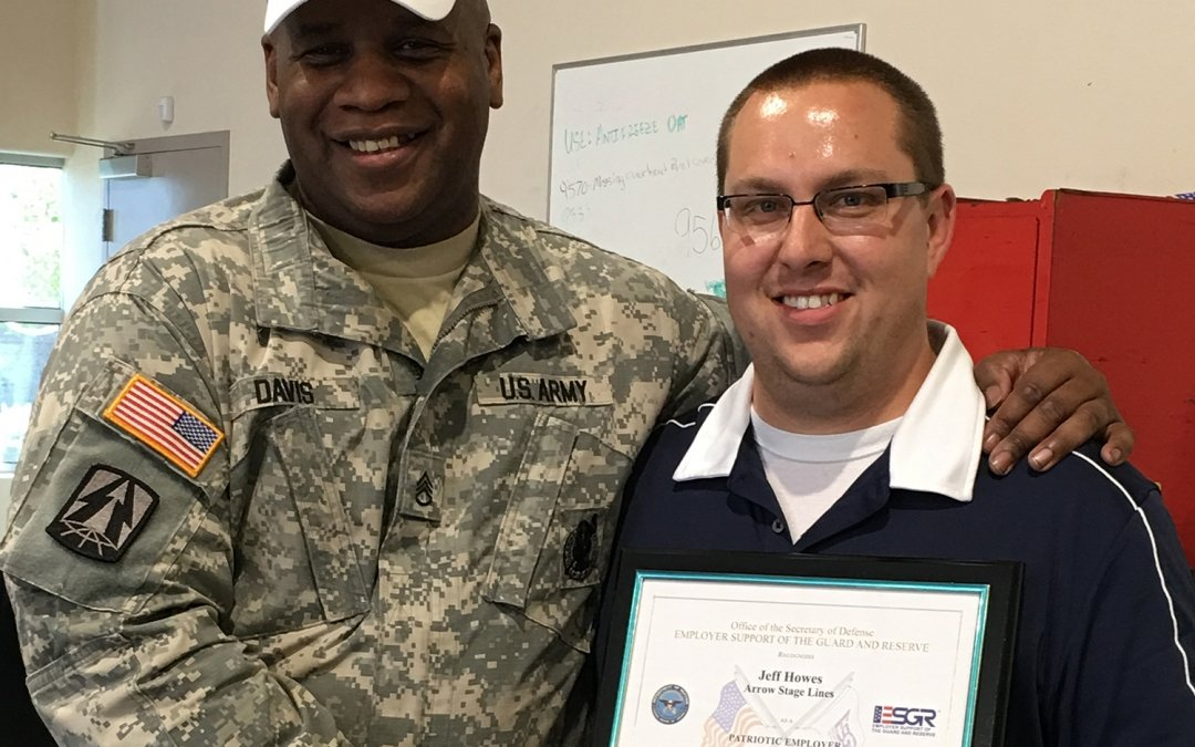 Arrow's Jeff Howes Recognized for Supporting Citizen Warriors