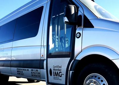 11-16 Passenger Executive Mercedes Sprinter Bus Charter