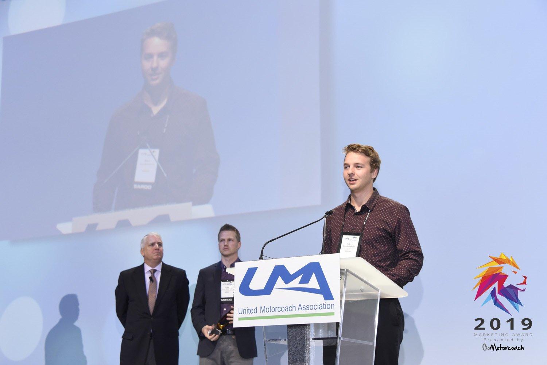 Arrow Stage Lines Receives Go Motorcoach 2019 Marketing Award