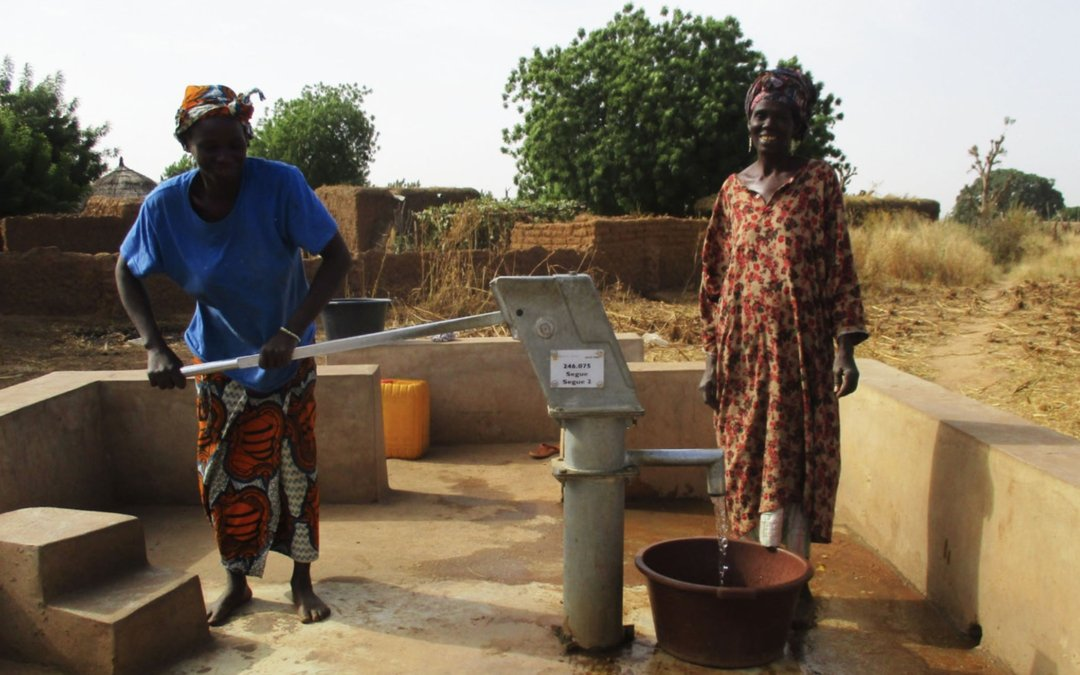 Completed Water Project in Africa