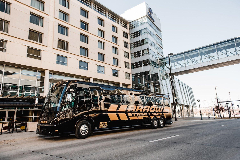 bus at CenturyLink Center